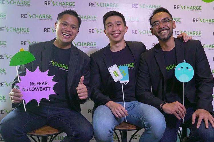 ReCharge Tawarkan Solusi Penyewaan Power Bank Berbasis Aplikasi