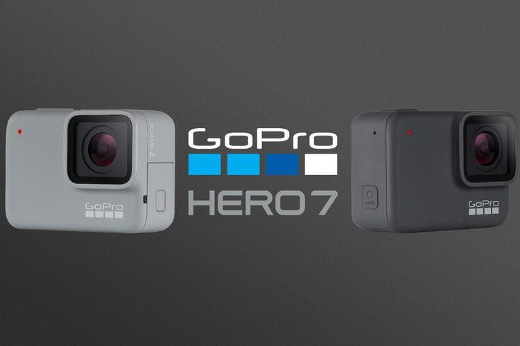 Kolaborasi Qualcomm dan GoPro Hadirkan Kamera HERO7 Silver dan White