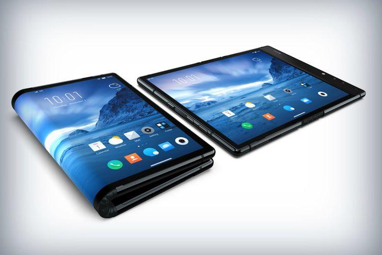 Kalahkan Samsung, Royole Luncurkan Ponsel Lipat Pertama di Dunia