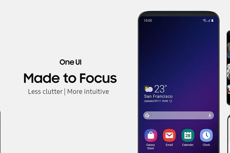 Samsung Pamerkan Kecanggihan Antarmuka Masa Depan Samsung One UI