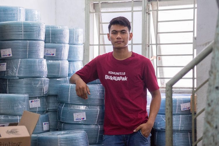 Mahasiswa 21 Tahun ini Raup Rp800 Juta dari Jualan di BukaLapak
