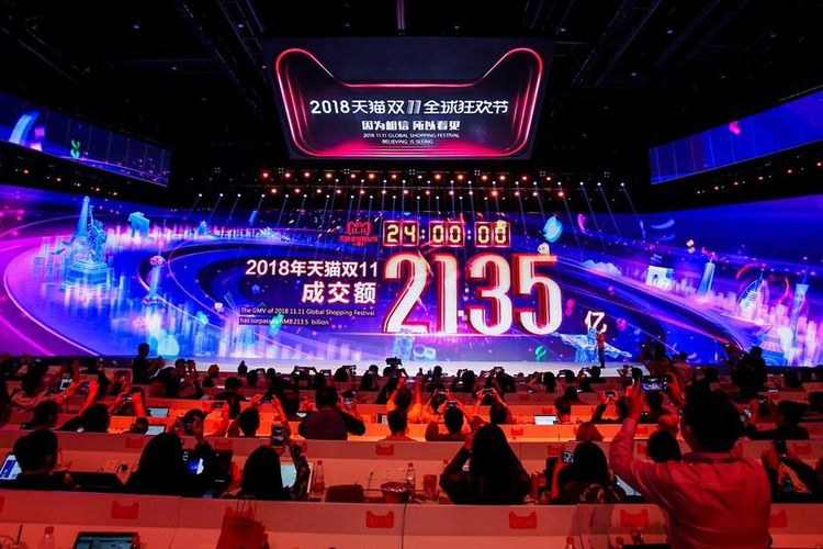 Rekor Baru, Penjualan Alibaba di Singles Day Tembus Rp446,6 Triliun