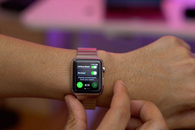 Kini Dengarkan Lagu-lagu Spotify Bisa Langsung dari Apple Watch