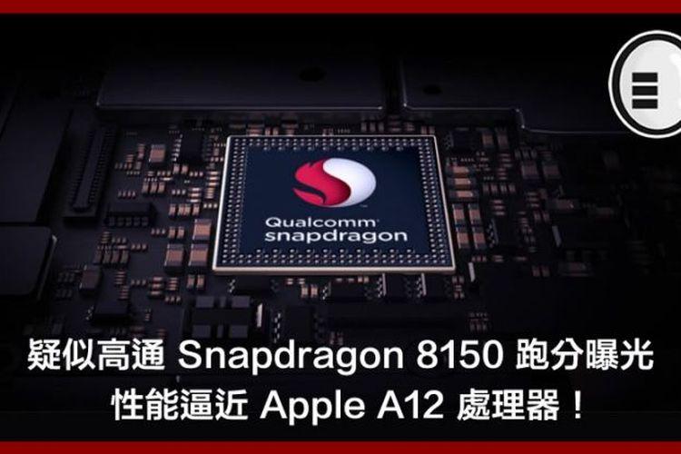 Bocoran Spesifikasi Chip Snapdragon 8150,  Lebih Irit dan Bertenaga