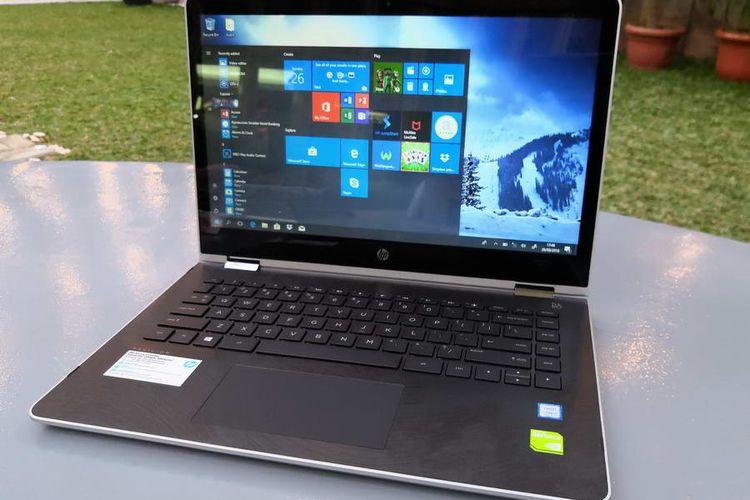 HP Pavilion x360 14-ba163TX: Laptop Convertible Berlayar Besar