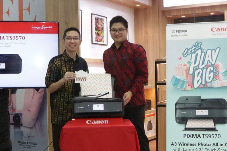 Multifungsi Canon PIXMA TS9570 Bisa Cetak Berbagai Ukuran Kertas