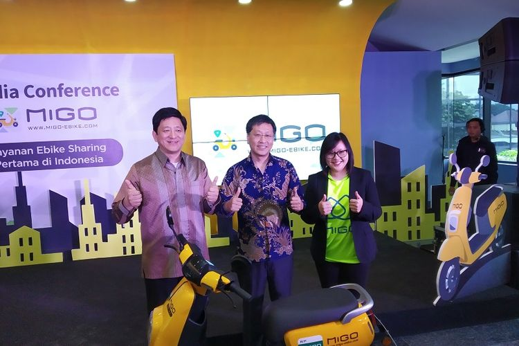 Layanan Sepeda Listrik Migo e-Bike Hadir di Jakarta, Tarifnya?