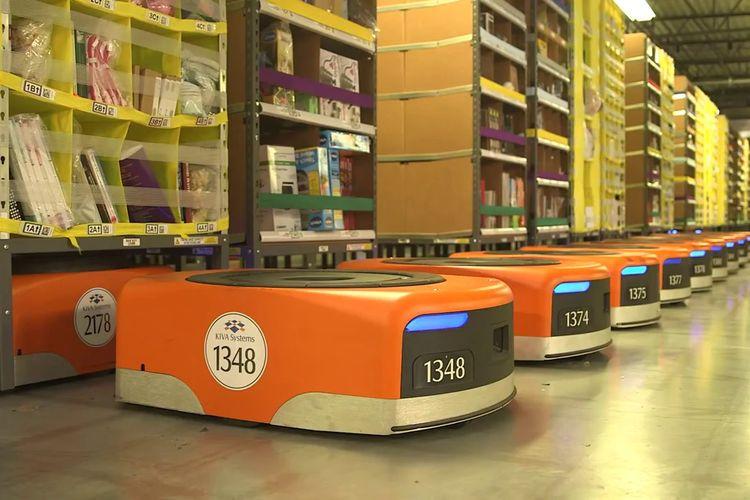 Robot Amazon Sebabkan Gas Beracun dan Bikin Puluhan Karyawan Keracunan
