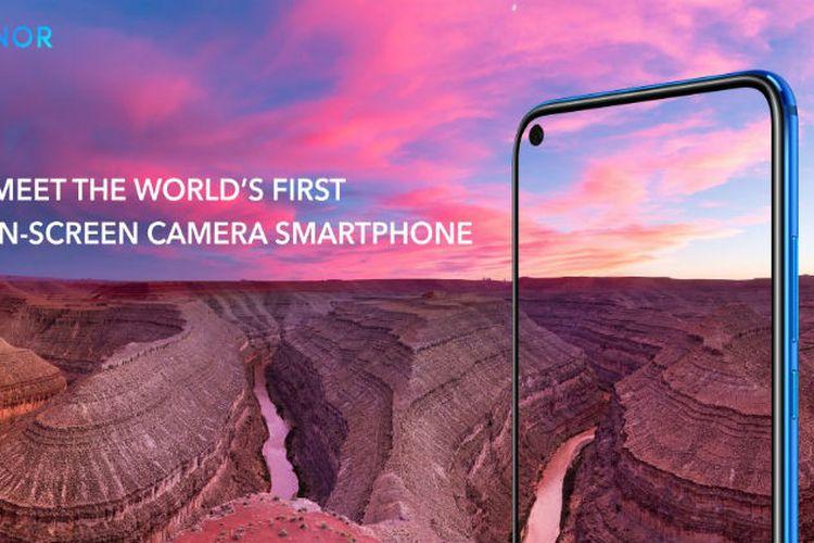 """Tantang Galaxy A8s, Honor Luncurkan Ponsel """"Layar Bolong"""" View 20"""