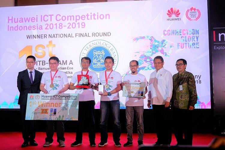 Pertama Kali Digelar, Mahasiswa ITB Jadi Juara Huawei ICT Competition