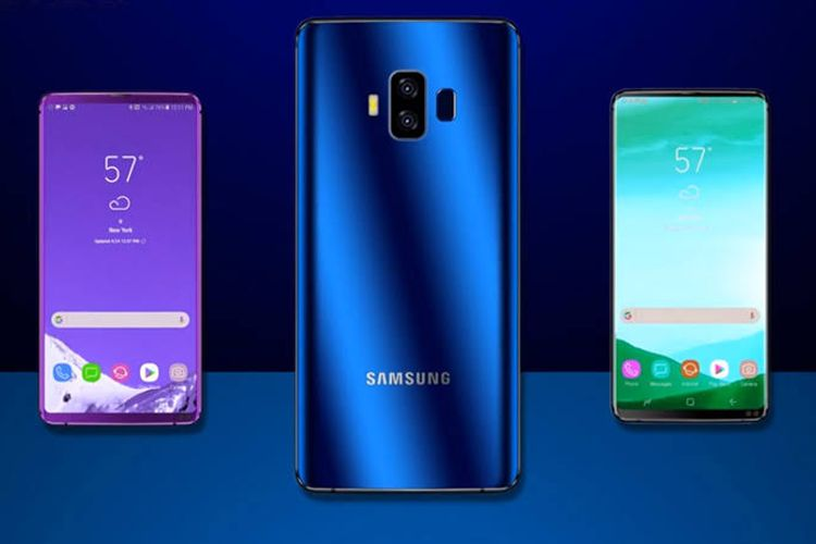 Samsung akan Pasang Teknologi Pemindai Sidik Jari di Layar Galaxy A10