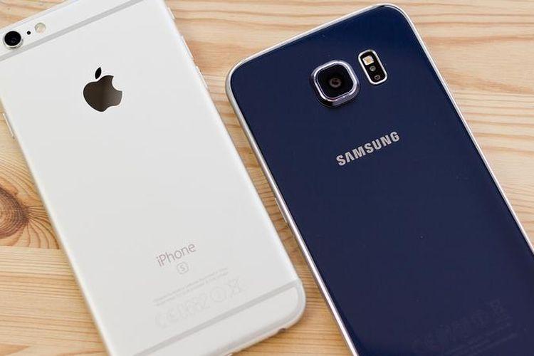 Apple dan Samsung Masih Rajai Pasar Ponsel Premium di Dunia Tahun lalu