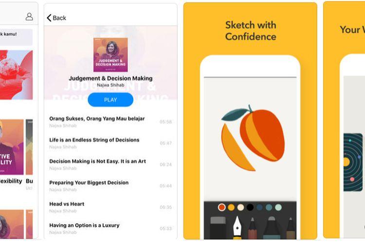 Aplikasi Pilihan untuk iOS: Inspigo serta Paper by WeTransfer
