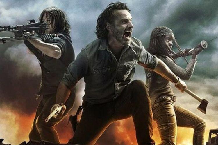 The Walking Dead, Serial TV yang Paling Sering Dibajak Tahun Lalu