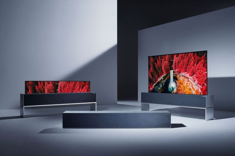 CES 2019: LG Pamerkan Layar TV yang Bisa Digulung, Harganya?