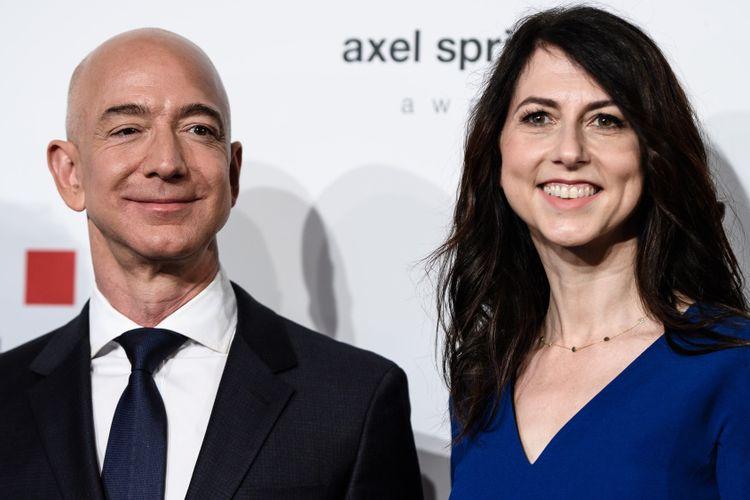Jeff Bezos Bercerai, Mantan Istri Bisa Dapat Pesangon Rp930 Triliun