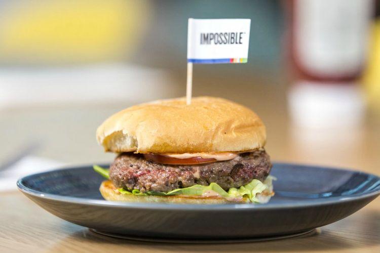 Impossible Burger: Burger yang menjadi bintang di pagelaran CES 2019