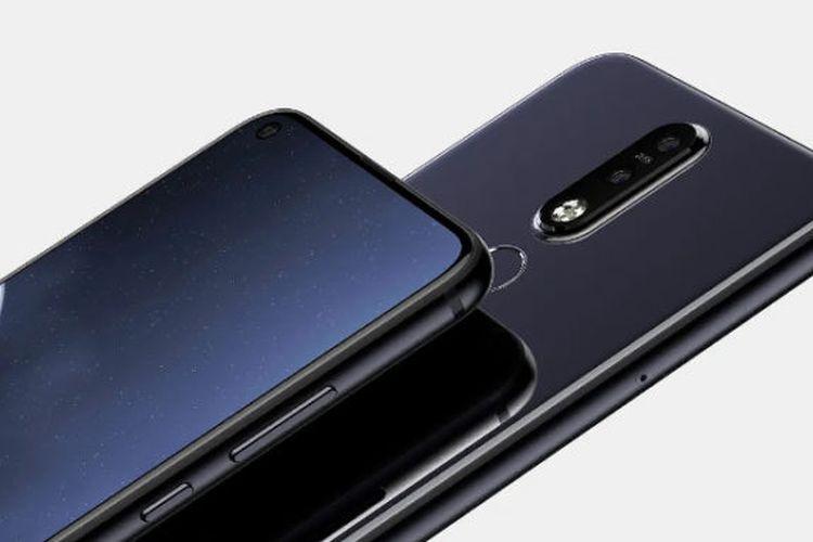 Begini Tampang Keren Ponsel Nokia 6.2 yang Punya Layar Berlubang