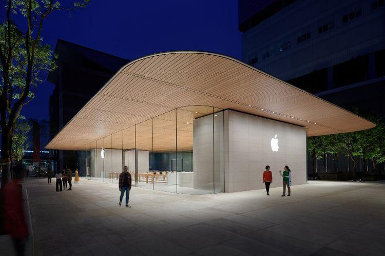 Intip Apple Store Terbaru di Taipei yang Akan Segera Dibuka