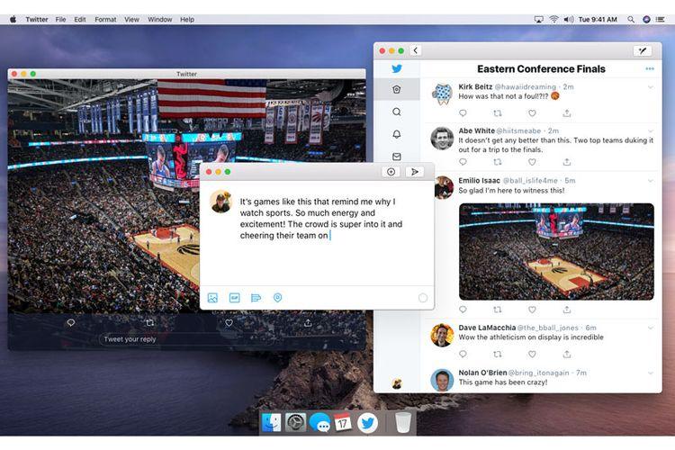 Twitter Jelaskan Aplikasi untuk Mac dengan Teknologi Project Catalyst