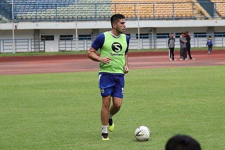 Fabiano Beltrame Dijamin Pelatih Persib Bandung Musim Depan, asal...