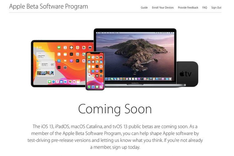 Cara Daftar Public Beta untuk Mencoba iOS 13, iPadOS, macOS Catalina