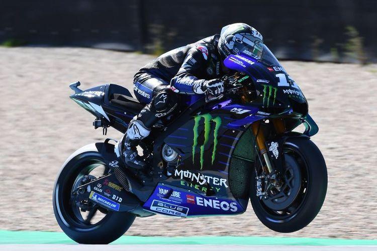Yamaha Sebut Maverick Vinales Buat Kemajuan Setelah Balapan di Jerez