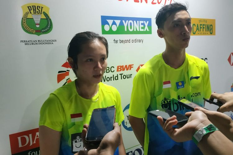 Indonesia Open 2019 - Tersingkir Prematur, Ronald/Annisa Langsung Tatap Ajang di Thailand