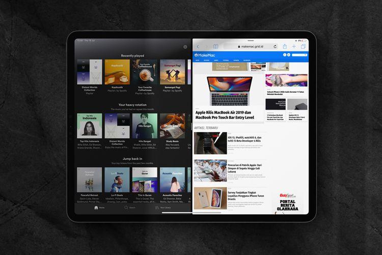 Lama Ditunggu, Spotify Akhirnya Mendukung Multitasking untuk iPad
