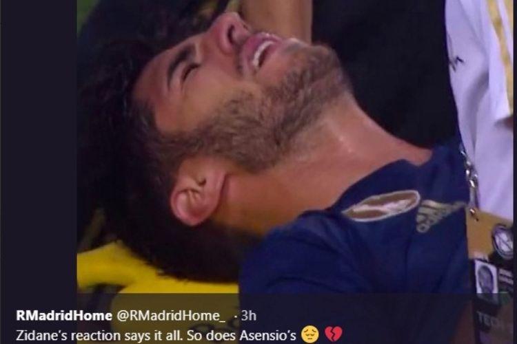 Anak Emas Zidane Masuk Rumah Sakit Setelah Cetak Gol Cantik