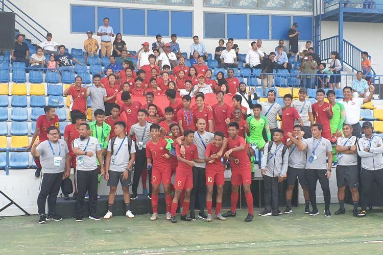 Pemain Timnas U-15 Indonesia Jangan Tergoda Pujian di Medsos