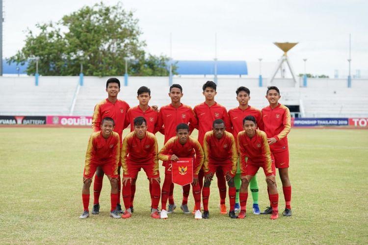 Link Live Streaming Indonesia Vs China di Kualifikasi Piala Asia U-16 2020