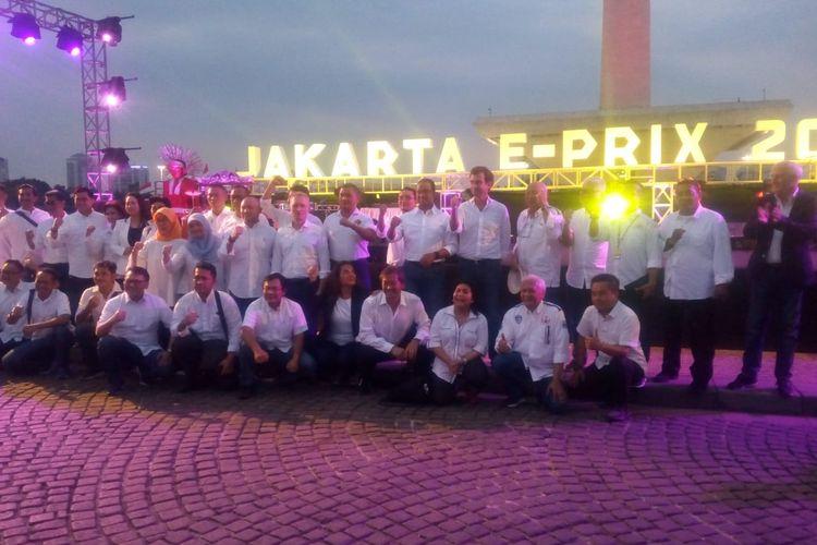 Jakarta Tuan Rumah Formula E, Rio Haryanto dan Sean Gelael Otomatis Tampil?