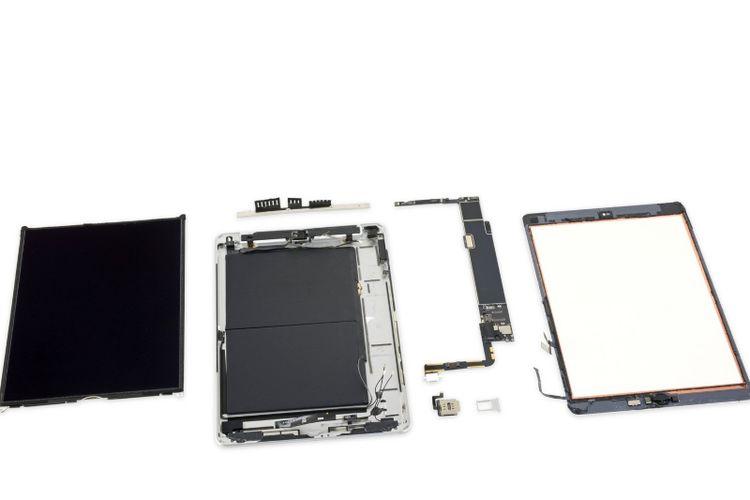 iPad 7 Dibongkar, Ada 3 GB RAM, Baterai Sama Dalam Layar Lebih Besar