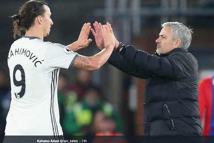 Jose Mourinho Tertarik Datangkan Ibrahimovic ke Tottenham Hotspur