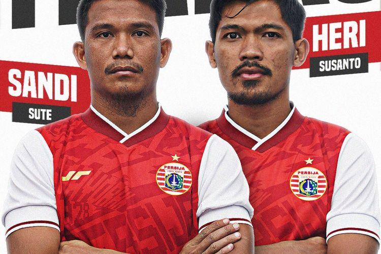 Persija Jakarta Resmi Lepas Sandi Sute dan Heri Susanto ke Persis Solo -  Bolasport.com