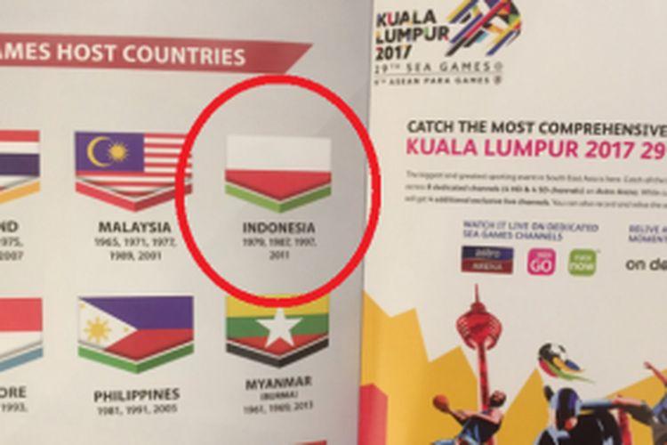 Sebelum Insiden Bendera Terbalik Di Sea Games Ini 6 Konflik Panas