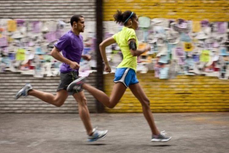 Berlari dengan iPod