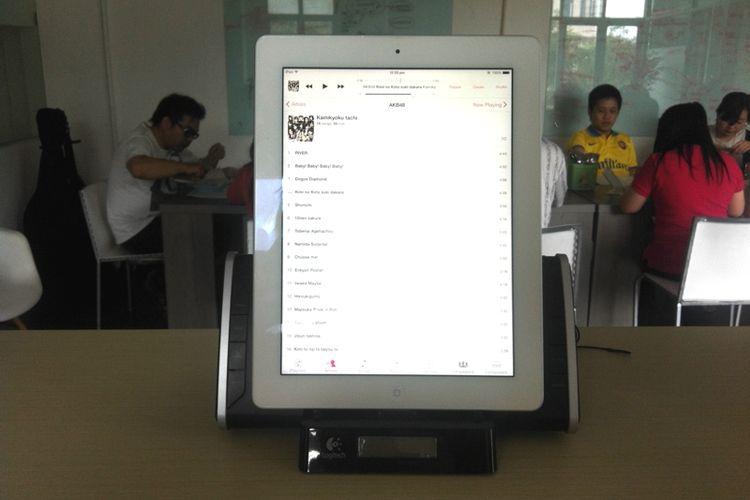 MM Market: Logitech BedSide Dock Buat iPad, Harga 350 Ribu Saja (SOLD)