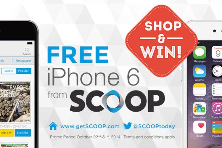 Win A Free Iphone 6 >> Scoop Bagi Bagi Iphone 6 Gratis