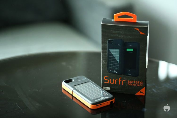 new style 9c8e1 0face EnerPlex Surfr, Battery Case iPhone 5 Berteknologi Solar Panel