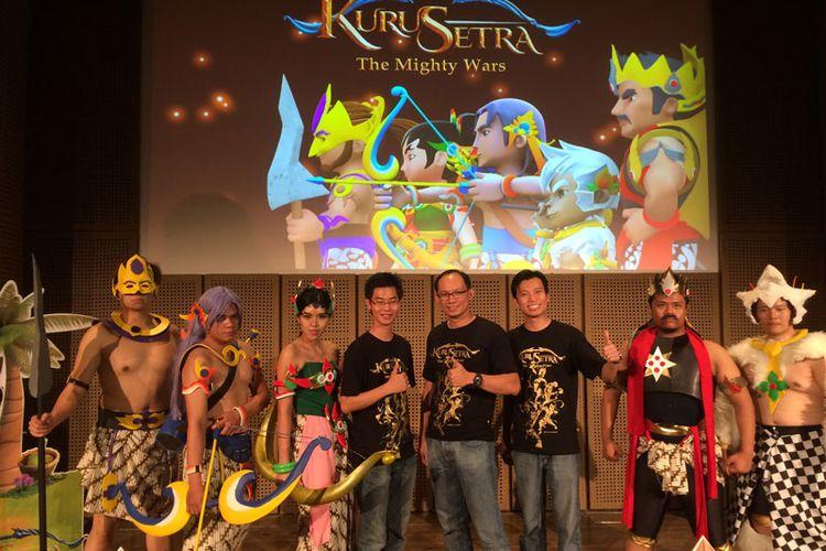 Liputan Launching Kurusetra, Game Strategi Terbaik Asli Indonesia