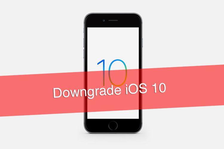 Tutorial Downgrade iOS 10 ke iOS 9 3 5 di iPhone, iPad dan