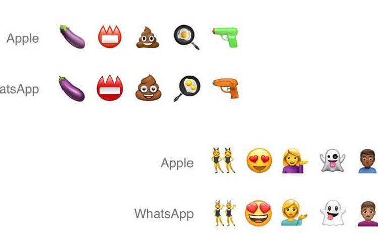 WhatsApp Pamerkan Emoji Buatan Sendiri, Mirip Milik Apple