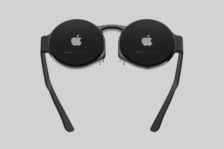 (Konsep) Apple Glasses dengan Desain Lensa Bulat Bikinan Desainer Korsel