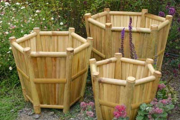 Pot Bambu Yang Menyatu Dengan Alam Semua Halaman Nova