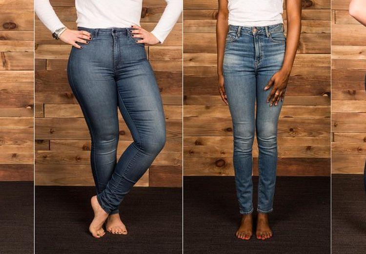 High-Rise Jeans. Model Celana Perut Yang Cocok Untuk Semua Tipe Tubuh. Moms Pilih Yang Mana?