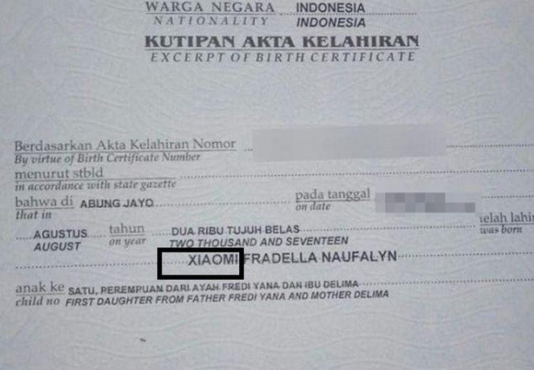 Heboh Bayi Xiaomi di Lampung, Namanya Bahkan hingga Didengar oleh Presiden Xiaomi di China