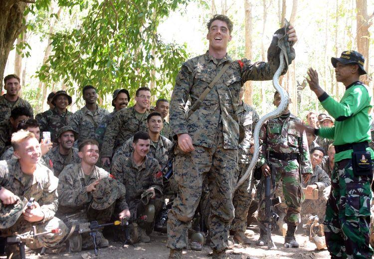 Saat Latihan Bersama, Pasukan Khusus TNI Mendapat Makanan Enak, Sebaliknya Pasukan AS Mendapat 'Buah Ular'