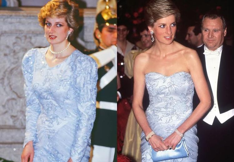 Agar Tak Bosan, Ini Cara Tepat Menyulap Baju Lama Menjadi Baru ala Putri Diana